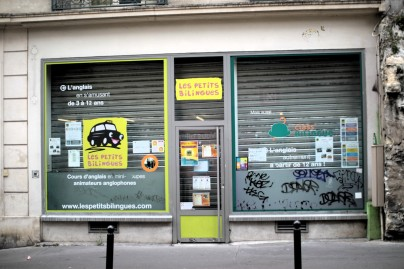 "The local language school for kids, ""Les Petits Bilingues"""